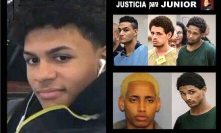 Esperan que a cinco acusados del asesinato de Junior sean sentenciados a más de 500 años