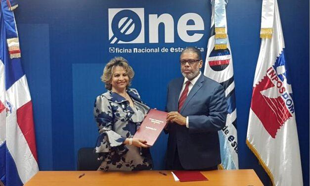 La ONE y el INPOSDOM suscriben acuerdo para respaldar el Censo Nacional de Población y Vivienda 2020