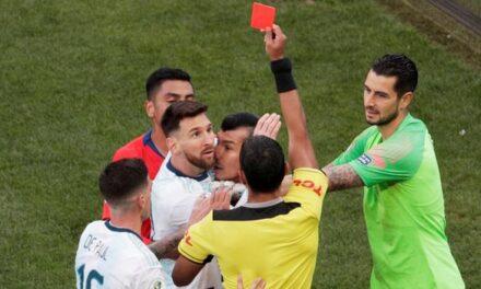 Lionel Messi es suspendido del fútbol internacional durante 3 meses
