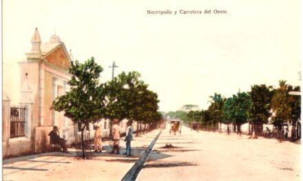 Primeros servicios servicios del cementerio católico de Santo Domingo