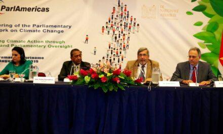 RD expone en encuentro de la Red Parlamentaria de Cambio Climático