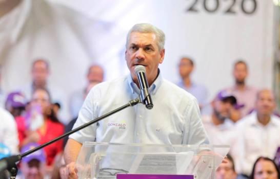 """Gonzalo Castillo: """"Soy la única oportunidad que tiene el PLD para mantenerse en el poder"""""""