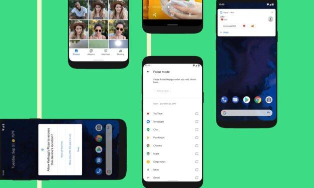 Android 10 te brinda mayor protección, transparencia y control de tus datos.
