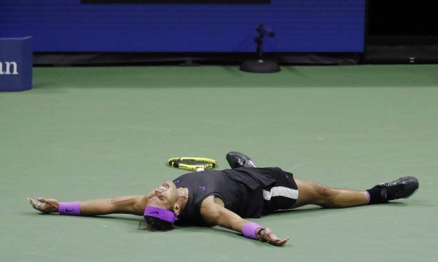 Nadal necesitó cinco set y casi cinco horas para ganar el OPEN US