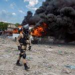 Puerto Príncipe se paralizó este lunes en protesta por la falta de gasolina