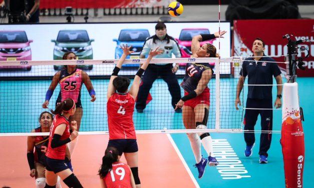 Las Reinas del Caribe logran 2da. victoria en Mundial Japón 2019