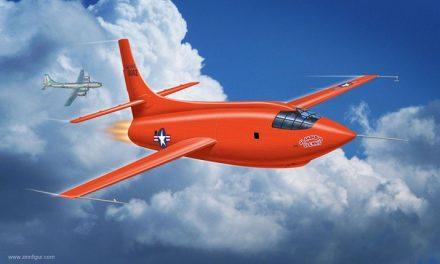 ¿Sabes cuál es la nave voladora que supera eñ sonido de un avión cohete?