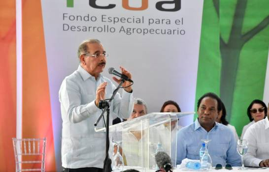 El gobierno ha financiado la producción agrícola con 43.7 mil millones de pesos