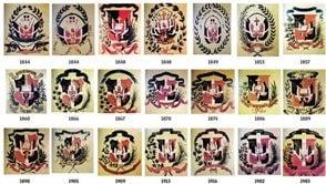 La evolución del Escudo Nacional