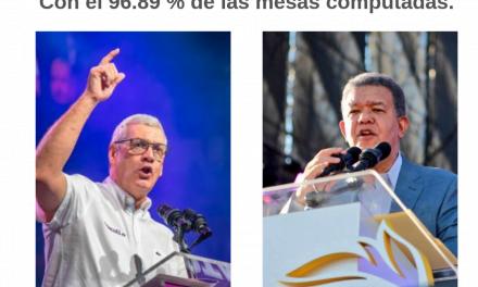 Boletín No. 11 Gonzalo Castillo abre la brecha contra Leonel Fernández