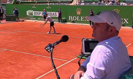Juez italiano alentó a tenista a ganar al rival y dirigió comentarios sexistas a pasapelotas