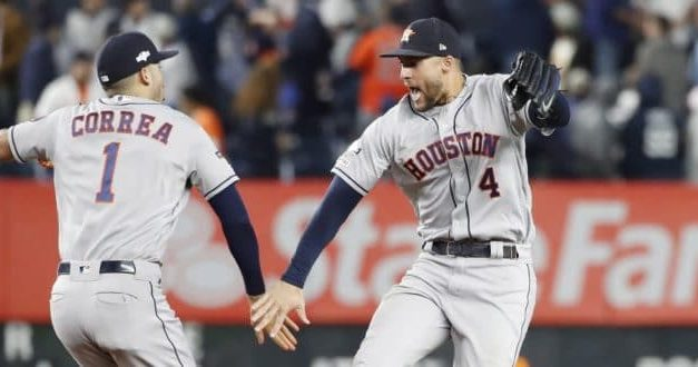 Astros vencen a los Yanquis de Nueva York y recuperan ventaja de campo