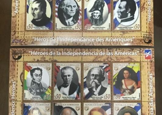 Patriotismo dominicano siempre presente en sellos del Inposdom