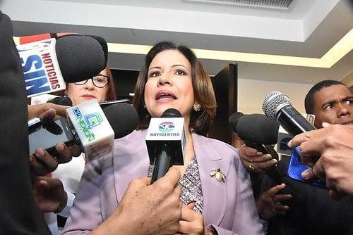 Margarita es la nueva secretaria de Educación del PLD; fueron elegidos otros 18 secretarios