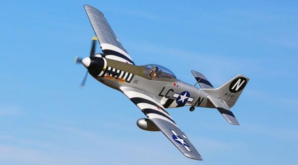 ¿Sabías qué el P 51 Mustang uno de los aviones de guerra de los Aliados en la II Guerra Mundial fue diseñado desde cero?
