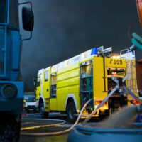 Emiratos Árabes Unidos: Se registra un gran incendio en un mercado de Ajmán