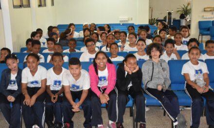 CAASD sigue promoción de ahorro y uso eficiente del agua en centros educativos