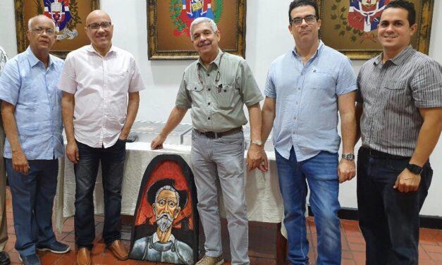 """Sociedad Numismática Dominicana imparte charla """"El Quijote de Madera: Un resumen para los Numismáticos""""."""