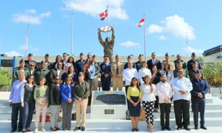 Estudiantes Maestría Defensa y Seguridad Nacional visitan Comandancia General Fuerza Aérea de República Dominicana.