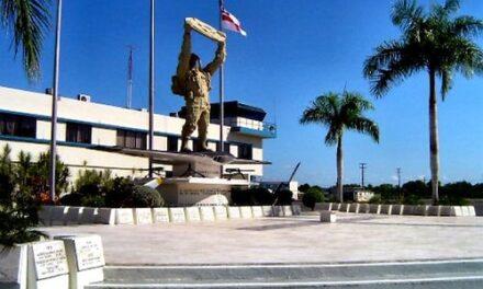 Fuerza Aérea inaugura obras en base militar de San Isidro